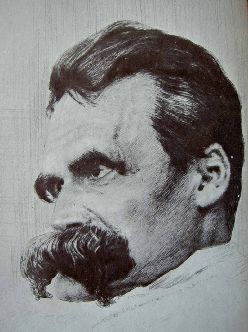 picture of Friedrich Nietzsche by Hans Olde